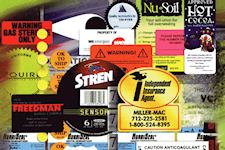 Artech Printing | Services | Labels | Custom Labels