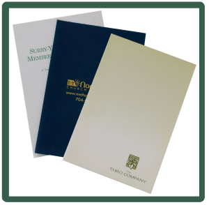 Artech Printing | Presentation Folders for Businesses